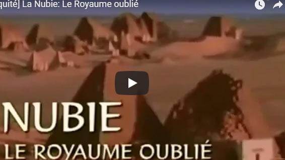 Antiquité - La Nubie : Le Royaume oublié