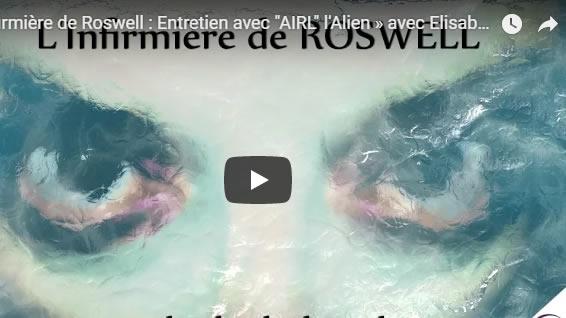 L'Infirmière de Roswell - Entretien avec AIRL l'Alien - avec Elisabeth de Caligny - NURÉA TV - Journal Pour ou Contre