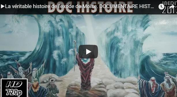 ▶La véritable histoire de l'exode de Moïse. DOCUMENTAIRE HISTOIRE INÉDIT 2017
