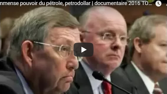 L'immense pouvoir du pétrole, petrodollar - documentaire 2016 TOP SECRET - Journal Pour ou Contre