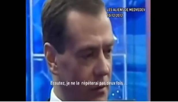 Medvedev : l'existence et la présence des extra-terrestres sur Terre