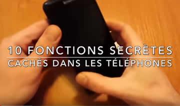 10 FONCTIONS SECRÈTES CACHÉES DANS LES TÉLÉPHONES | Lama Faché