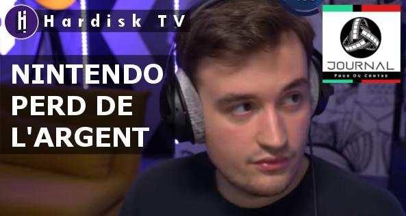 NINTENDO PERD DE L'ARGENT !