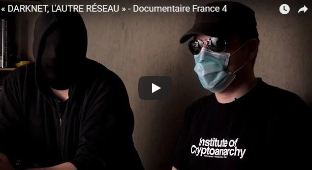 DARKNET, L'AUTRE RÉSEAU - Documentaire France 4 - Journal Pour ou Contre