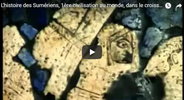 L'histoire des Sumériens, 1ère civilisation au monde, dans le croissant fertile ou Mésopotamie - Journal Pour ou Contre
