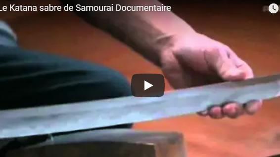 Le Katana sabre de Samourai Documentaire