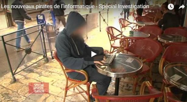 Les nouveaux pirates de l'informatique - Spécial Investigation - Journal Pour ou Contre