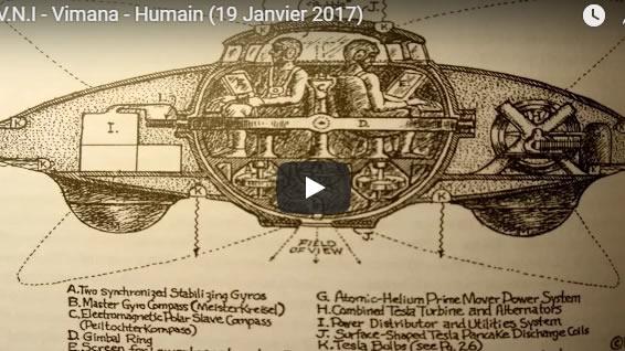 O.V.N.I - Vimana - Humain - 19 Janvier 2017 - Journal Pour ou Contre