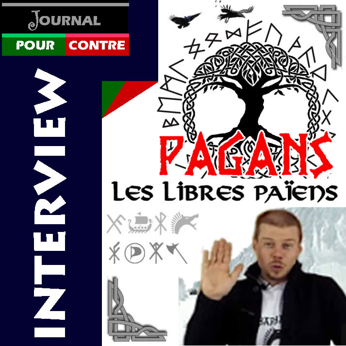 Interview avec Oleg de PAGANS TV sur le Journal Pour ou Contre
